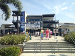 Entrance to Charlotte County Sports Park in Port Charlotte, Spring Training home of the Rays